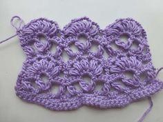 """Crochet with eliZZZa * Crochet Stitch """"Anastasia"""""""