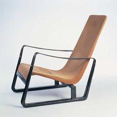 Jean Prouvé fauteuil Cité 1933