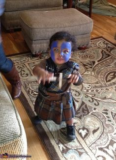 William Wallace from Braveheart - Halloween Costume Contest via @costumeworks