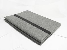 "Macbook pro 13"" Macbook Sleeve Case Wool Felt Custom Made Felt Case Sleeve Cover Bag With Strap for Macbook pro 13""-B2054"