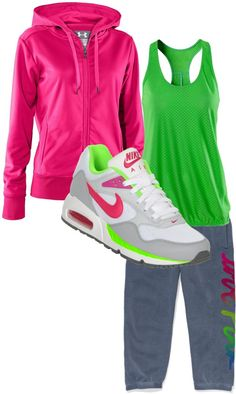 """cute workout clothes"" by nkgray on Polyvore"