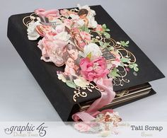 Tati, Just Married, Mixed Media Album, Mon Amour, Product by Graphic 45