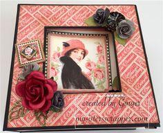 """Graphic 45 """"Mon Amour"""" Boxed Mini Album– ButterBeeScraps"""