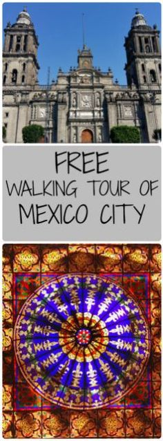Free Walking Tour of Mexico City