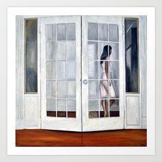Door, Art Print by Helena Hsieh