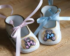 Handpainted Personalized Porcelain New Baby by PaintingbyRebecca, $32.00