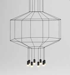Lighted Line Drawings: WIREFLOW by Arik Levy for Vibia in home furnishings  Category