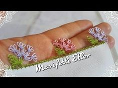 İğne oyası aşk merdiveni yapımı | igne oyasi modelleri ve iğne oyaları | How to make needle lace ? - YouTube
