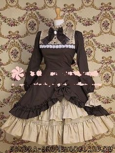 Коричневое Платье Лолита, Lolita