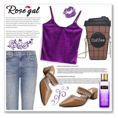 """""""Rosegal 69."""" by ruza-b-s ❤ liked on Polyvore featuring GRLFRND and Victoria's Secret"""