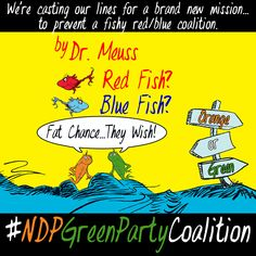 If we keep on falling for their lure, we'll flush Canada down the sewer. #canpoli #NDPGreenPartyCoaliton