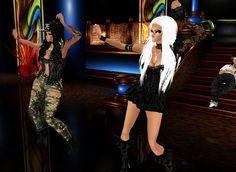Night clubbing in Imvu