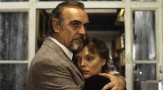 Connery plays the part of Barley Blair, a publisher who becomes dangerously involved in a Cold War intrigue along with Michelle Pfeiffer, a Russian book editor.