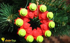 LEGO Christmas tree ornament