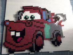 Hama beads Perler Disney Cars Mater Martin