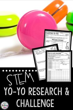 STEM Yo-Yo Research and Challenge will engage all your elementary students while they research the history of yo-yos.  Your elementary students will research yo-yos and conduct science experiments. Collecting data, learning about energy, and researching are all important skills.  Great for grades 3rd-5th