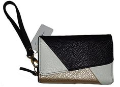 Jessica Simpson Wristlet Clutch Handbag Zip Around Wallet