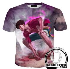 Angry Monkey D Luffy Hoodie - One Piece Hoodies - Double Printed Clothing