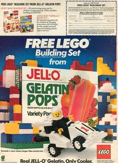 I loved Gelatin Pops almost as much as I loved Pudding pops.