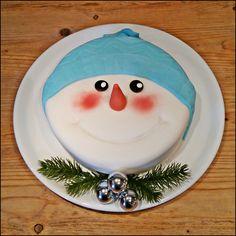 vanilla cream winter cake
