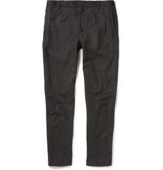 LanvinSlim-Fit Cropped Wool and Cashmere-Blend Trousers