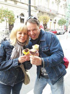 Októberi fagyi... #budapest #hungary #icecream #fagylalt #gelartorosa