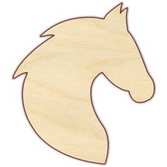 Horse head Unfinished wood cut from Baltic birch plywood unless indicated otherwise. Pieces are laser cut, which results in smooth, brown edges that do not require sanding. Please note that the b Horse head Unfinished wood cut from Wood Carving Patterns, Wood Patterns, Applique Patterns, Quilt Patterns, Cross Patterns, Woodworking Patterns, Woodworking Crafts, Japanese Woodworking, Unique Woodworking
