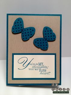 Stampin' Up!, Word Play, Woodgrain, Flight of the Butterfly