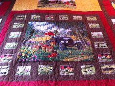 Farm design quilt