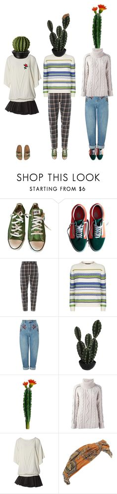 """""""growth"""" by she-is-mystery ❤ liked on Polyvore featuring Converse, Vans, Weekend Max Mara, Miss Selfridge, Abigail Ahern, Giada Benincasa, Jay Ahr, Forever 21 and Birkenstock"""