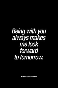 """Because we aren't together, I don't look forward to tomorrow, but I get up, and see your picture, and I say, """"Thays why I'm fighting today. For my Em."""" Ae"""