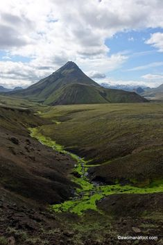 Awesome Beyond Words: Female Solo Hiking Laugavegur Trail in Iceland
