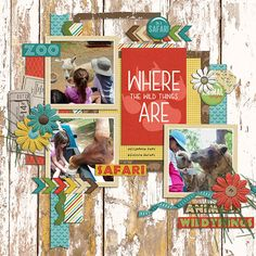 where the wild things are march madness grab bag instafun - miss fish templates   wild things - connie prince   http://store.gingerscraps.net/March-Madness-Grab-Bag.html   http://store.gingerscraps.net/Wild-Things-Kit.html