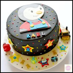 decoration gateau tchoupi