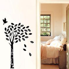 $35  Black Enchanted Wishing Tree Wall Decal at Art.com
