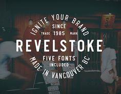 "Check out new work on my @Behance portfolio: ""Revelstoke Typeface"" http://be.net/gallery/52043329/Revelstoke-Typeface"