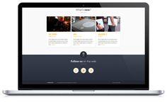 Hive, the social bar - Website by Angelique Calmon, via Behance