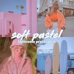Soft Pastel Lightroom Preset (Mobile + Desktop) | Cute Preset | Aesthetic Preset | Mobile & Desktop Preset  #dreamypresets #aestheticpresets #90svibes #lightroompresets #photofilters #vintagepresets #oldschool #oldschoolpresets #lightroomfilter #etsyshopowner #oldschoolfilters #instagramfilters #pastelvibes #pastelpresets #pastelfilters #pastelaesthetic #etsyseller Vintage Lightroom Presets, 90s Aesthetic, Your Photos, Filter, Desktop, Pastel, Cute, Instagram, Color Boards