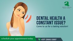 If your dental health is poor and you are suffering from various dental ailments, come to us! We will provide solutions that eradicate your dental issues!