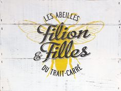 Branding for Filion & Filles, a honeymaker operated by two young sisters..