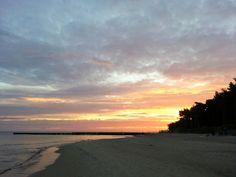 Farbenspiel am Strand von Dzwirzyno Polnische Ostsee