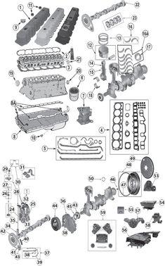 1987-2006 Jeep® 4.0L (242ci) Inline 6 Cylinder Engine Replacement Parts - Quadratec
