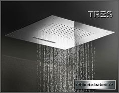- Recessed ceiling shower head / square / waterfall / rain by GABOLI FLLI