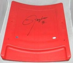 Lawrence Taylor Autographed Signed Meadowlands Giants Stadium Seatback - Steiner Sports Certified - NFL Autographed Game Used Stadium Equipment ** Check out this great product.