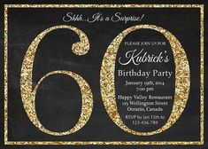 1404 best 60th birthday invitations images on pinterest 60th