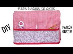 COMO HACER FUNDA PARA MAQUINA DE COSER. Patrones gratis!! - YouTube