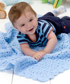 Baby Comfort Blanket: free pattern
