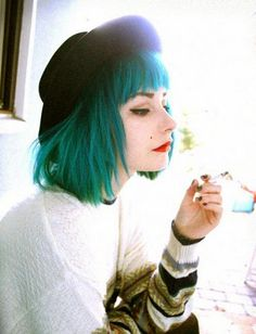 Enjoyable 1000 Images About Grungy Scene Colorful On Pinterest Scene Short Hairstyles Gunalazisus