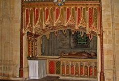 Norwich Cathedral, chantry of Bishop Goldwell.