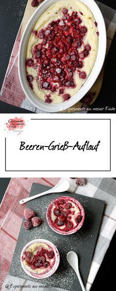 Beeren - Grieß - Auflauf | Rezept | Kochen